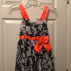 Girls size 10 formal dress